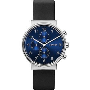 Skagen Ancher Leather Chronograph SKW6417