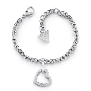 Guess Hearted Chain UBB29074-S